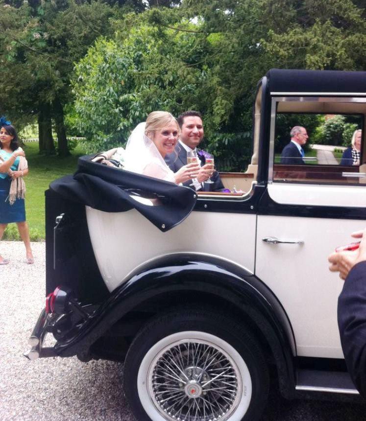 Vintage Wedding Dresses Hertfordshire: Vintage Regent Wedding Car In Cheshunt